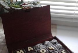 Сладкие подарки на день матери