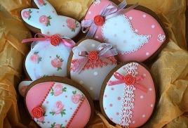печенье ручной работы с росписью